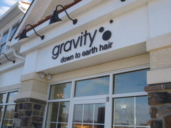 First tenant gravity hair salon opens at cold point for Gravity salon