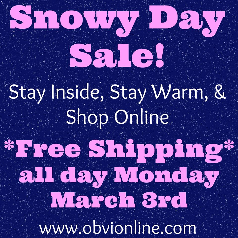 Free Shipping Today: Free Shipping Today From OBVI's All New Online Store