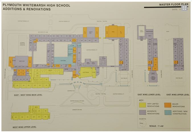 Renovations And Additions Planned For Plymouth Whitemarsh High School Starting 2015