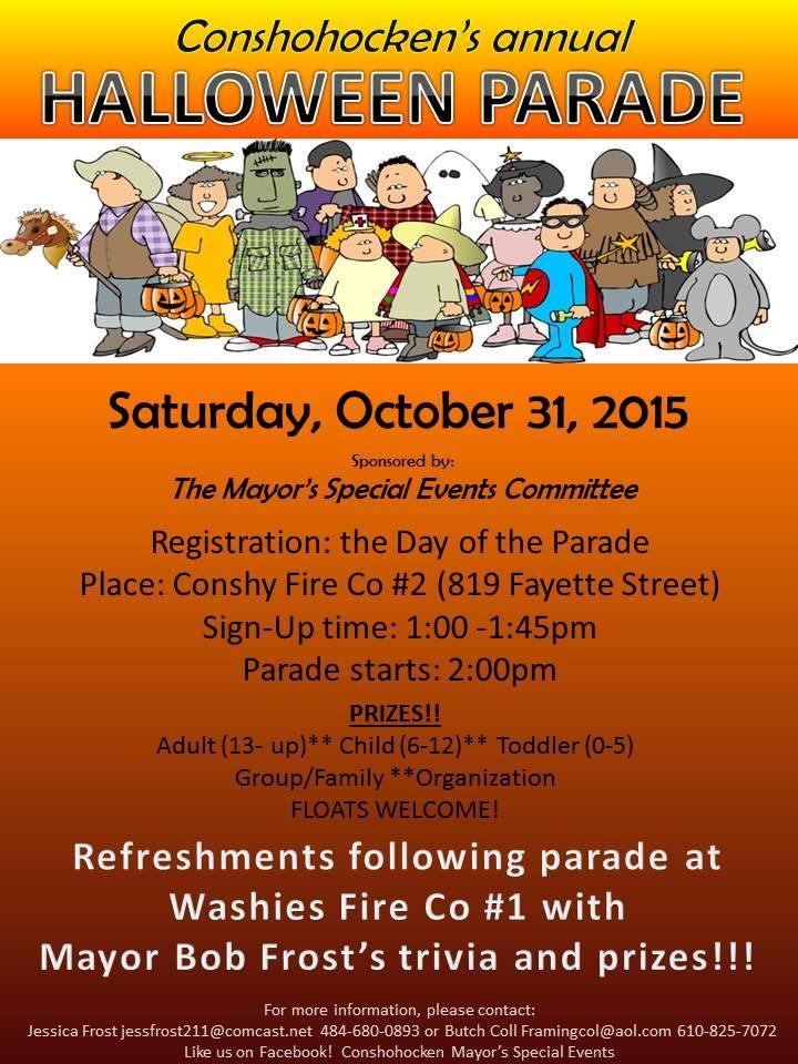 Conshohocken S Annual Halloween Parade Returns On October