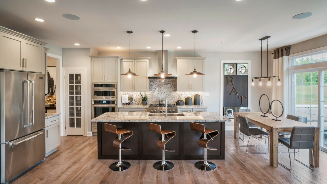 Three new professionally decorated model homes are now available to tour at the oaks at - Who decorates model homes image ...